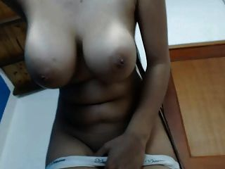 Hottie With Big Boobs And Long Hair All Natrual