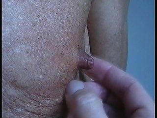 Playing With My Nipples And Jerk With Cock Ring