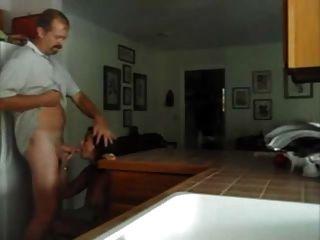 Fucking My Milf In The Kitchen