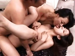 Lesbian And Straight Groupsex Action