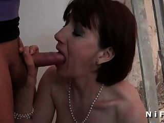 Sextape Of A Mature Sodomized And Facialized