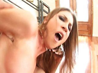 Shay Moore Tries Out 1st Double Penetration