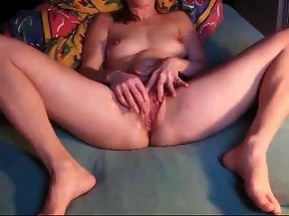 Danish Amateur Masturbates On Webcam