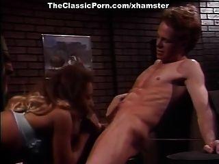 Kascha, Courtney, Nikki Sinn In Classic Porn Scene