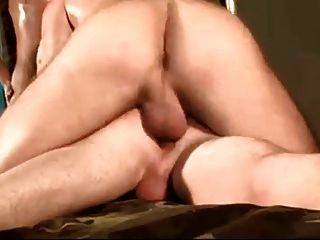 Military Threesome Hot Night