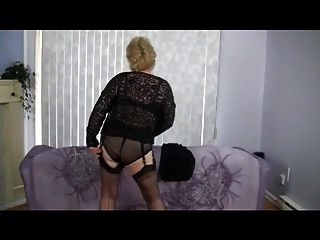 Granny Does Striptease