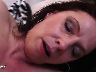 Mature Slut Mother Loves A Younger Cock Inside Her