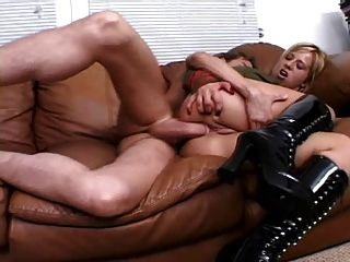 Georgia Analfuck On Couch