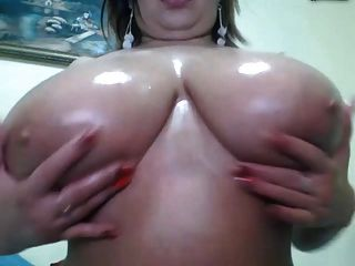 Webcams 2014 - Romanian With Big Ass Titties 3: Oil Show