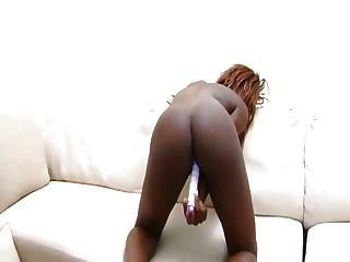 Black Arse On Sofa