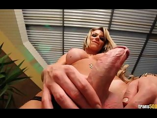 Sweet Tranny With Hungry Ass And Cock