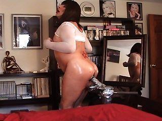 Slut Cd Helen Lake Caught On Webcam Enjoying Huge Dildo!