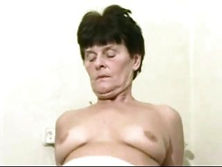 Mature Granny Landlady Wakes Her Young Lodger With A Fuck