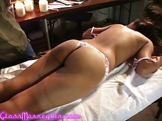 Sexy Alliyah Sky Gets A Naughty Massage From Her Producer