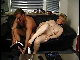 German Mature Granny Fucks