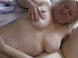 Two Chubby Grannies Have Fun