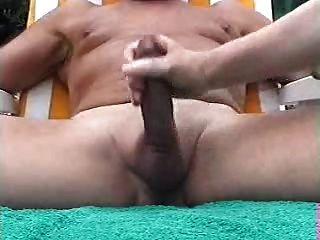 Handjob - Daddys Helping Hand