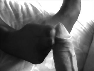 Footjob With Great Cumshot