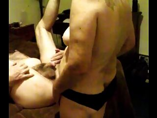Pegging With A Jerk Off
