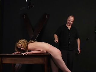 Small Tits Lady Spanked And Teased By Her Master