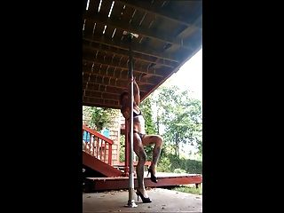 Alternative Girl Pole Dancer