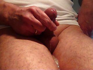 Hot Cum On My Legs