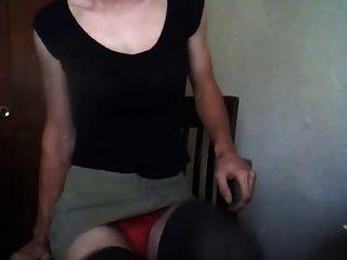 crossdresser anal time 1st
