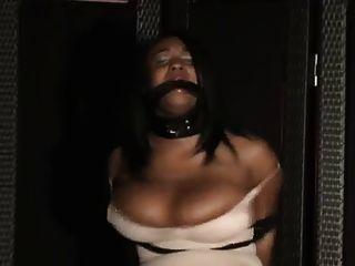 Struggling In Miniskirt