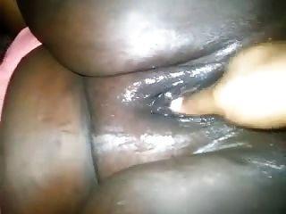 Fat Black Pussy Fingering