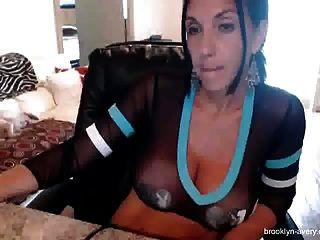 Italian Milf Dildo Sex