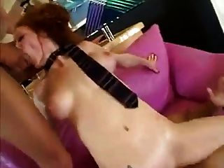 Nice Audrey Rough Double Anal