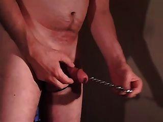 Cock Pump Ballls Masturbate Toy Dilator Peeholemwichsen