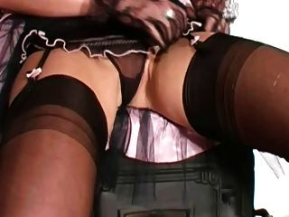 Lace Gloves And Stockings