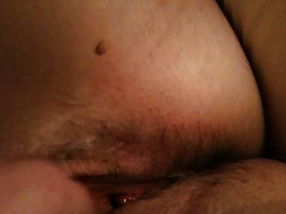 Fingering Hairy Wet Pussy Closeup