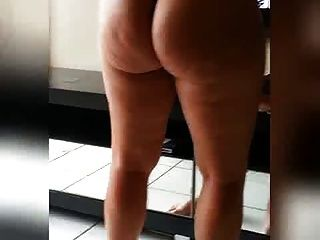 Mature big soft  ass