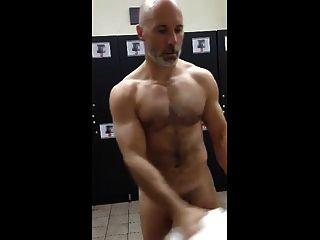 Musculoso En El Gym