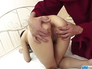 Deep Pumping For Aiuchi Shioris Hairy Twat