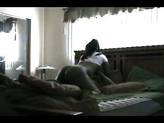 Big Ebony Ass Riding Cowgirl