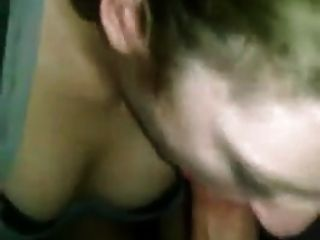 Blonde College Girl Loves To Give Head In The Evening