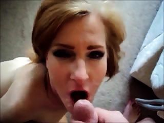 Slut Wife Facial Compilation