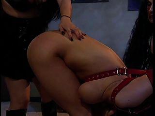 2 Hotties Enjoying A Cute Big Tits Sorority Sister