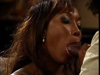 Ebony Hottie With Hooters Banged Hard