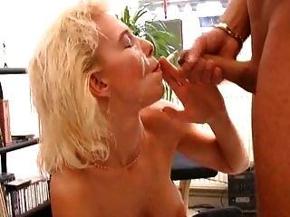 Smoking Blonde Sex