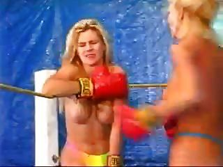 Vintage Blonde On Blonde Boxing