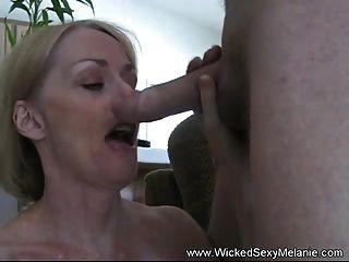 Toying Cum Swallower Slut