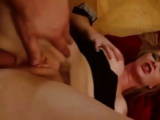 Busty Blonde Babe Getting Her Asshole Fucked Hard