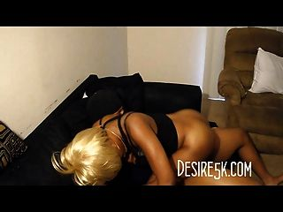 Ebony Babe Exposed Dick Riding On Hidden Cam