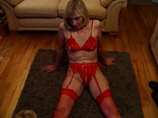 Me In Red Stocking