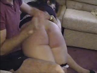 Maid Spanked