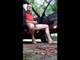 Daddy Outdoor Masturbation